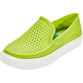Crocs CitiLane Roka Slippers Kids Volt Green